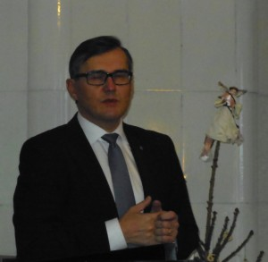 Kaupunginjohtaja Timo Kenakkala, juhlakokous Sibeliuksen syntymäkodissa